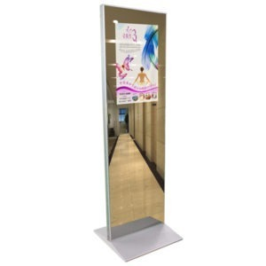 Floor Standing 24inch LCD Display Mirror
