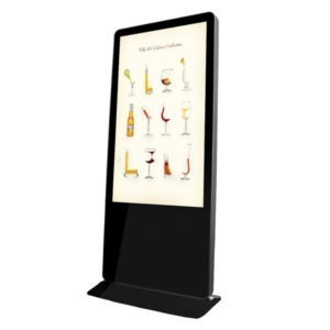 55-inch Indoor Standing iPhone Alike LCD Digital Signage
