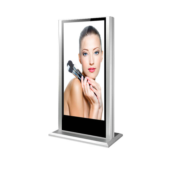 Standing 65inch LCD digital signage